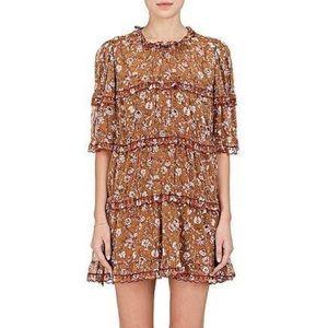 Etoile Isabel Marant Fall Floral-Print Mini Dress